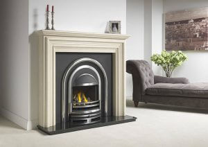 Alnwick shown with Cast Tec regal Integra suitable for electric or gas