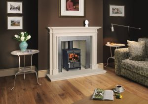 Blenheim shown with fdc 5 stove