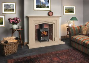 Boscombe shown with fdc 5 stove